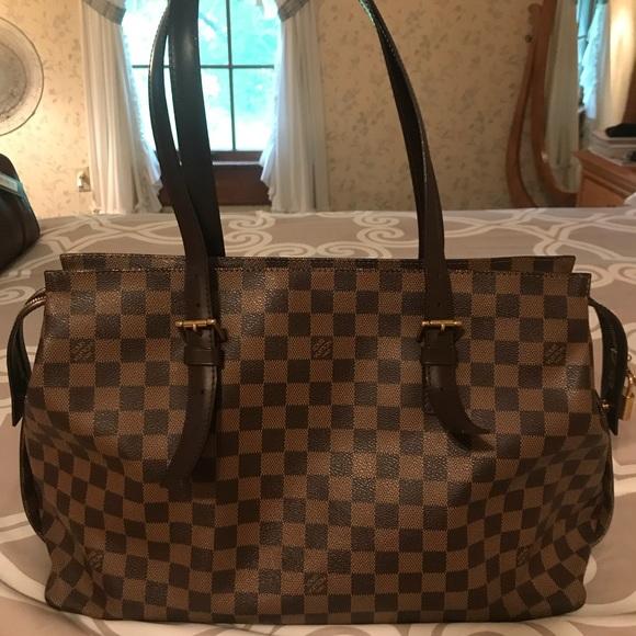 2d66d9be87c6 Louis Vuitton Handbags - Louis Vuitton Damier Ebene Chelsea